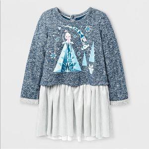 Disney • Frozen • Sweater • Skirt • 2T • Gray